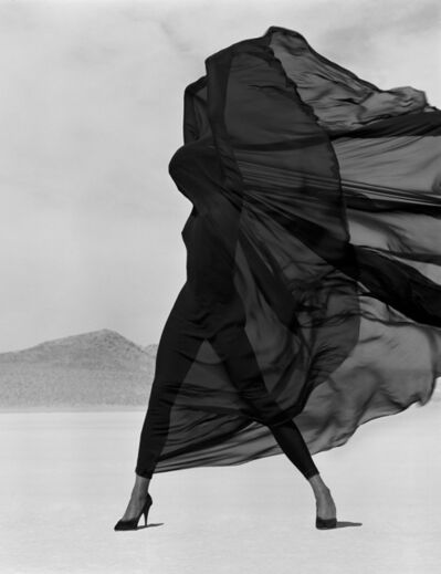 Herb Ritts, 'Versace. Veiled Dress', 1990