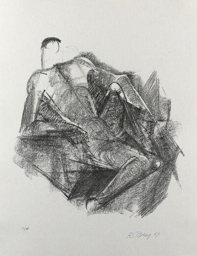 Rudolf Belling, 'Ruhender', 1967