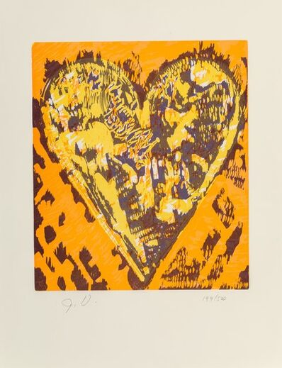 Jim Dine, 'Film Forum Heart', 1993