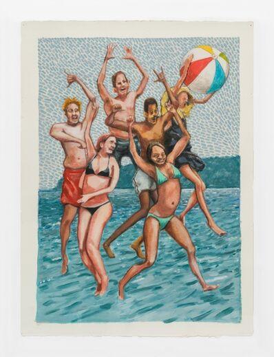 Rob Thom, 'Jumpy Beach w/Ball', 2019
