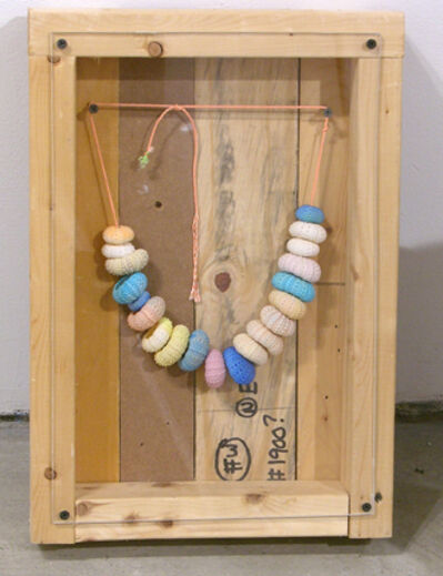Phoebe Washburn, 'Necklace for Hippies who drink Gatorade #1', 2008