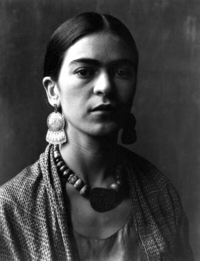 Imogen Cunningham, 'Frida Kahlo, painter', ca. 1931