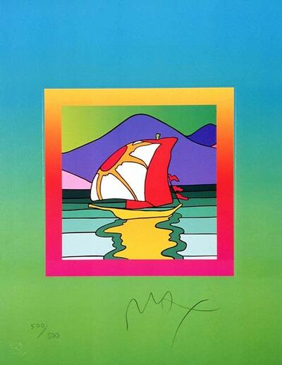 Peter Max, 'Sailboat East on Blends ', 2005