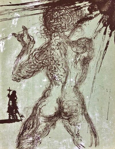 """Salvador Dalí, 'Homage to Meissonier, """"Le Pecheur""""', 1967"""