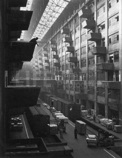 Andreas Feininger, 'Warehouse Dock, Brooklyn', 1948