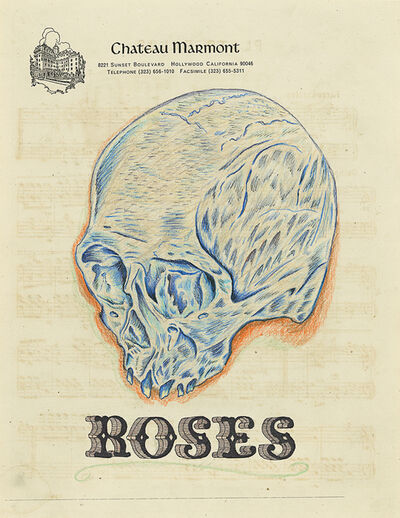 Wes Lang, 'Roses', 2010