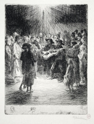 Théophile Alexandre Steinlen, 'Chanson du Soir', ca. 1913