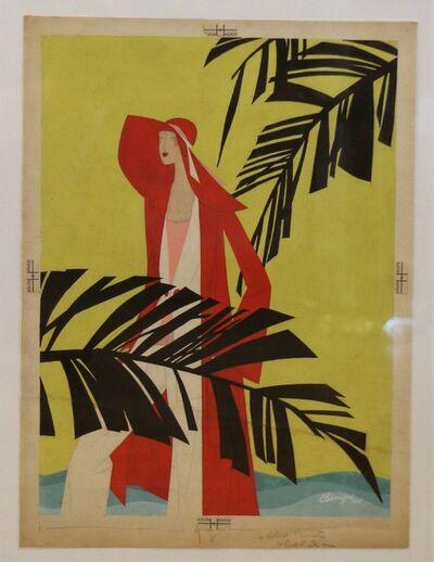 Léon Benigni, 'Art Deco advertising project, by Leon Benigni', 1929