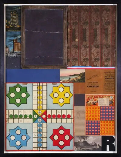 Peter Blake, 'Children's Games - Ludo (in homage to Robert Rauschenberg)', 2010