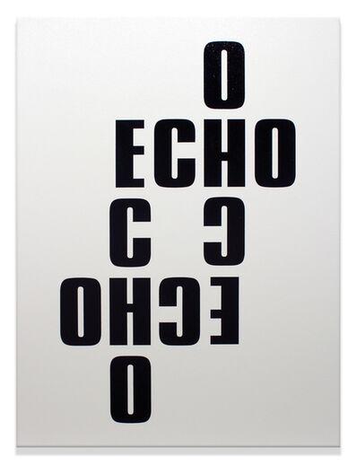 Kay Rosen, 'Echos', 2020