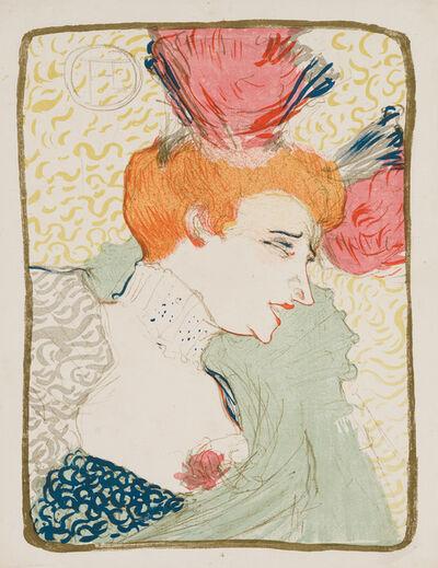 Henri de Toulouse-Lautrec, 'Mademoiselle Marcelle Lender, en Buste', 1895