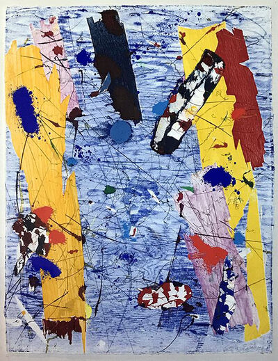 "Sam Francis, '""Untitled"" (EXP-SF-60-04-1983)', 1983"
