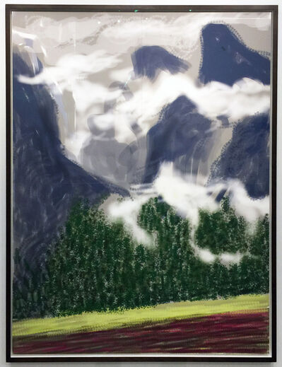 David Hockney, 'Yosemite II, October 5, 2011', 2011