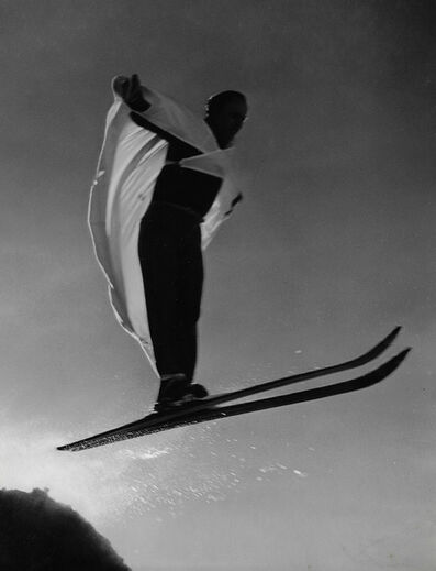Norman Parkinson, 'Bird man at Chamounix, France', 1937