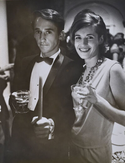 Julian Wasser, 'Ed Ruscha and Patty Callahan at the Opening Reception, Duchamp Retrospective, Pasadena Art Museum', 1963