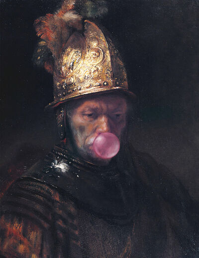 Thomas Hussung, 'Man with the Golden Helmet', 2017