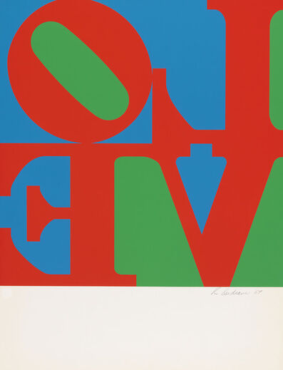 Robert Indiana, 'Love Wall (Single Panel)', 1967