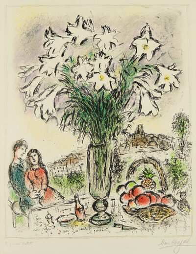 Marc Chagall, 'Les Arums (The Arums)', 1975