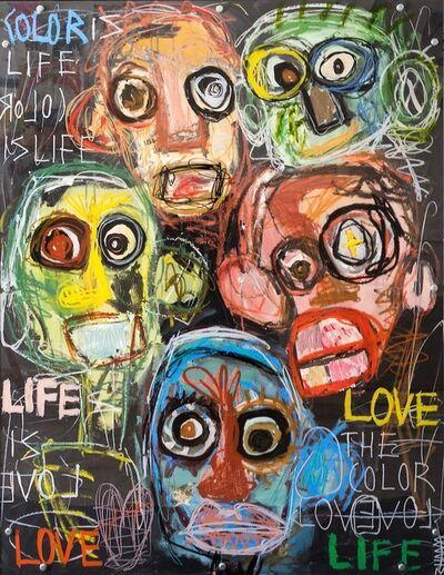Silvia Calmejane, 'Life is love', 2020