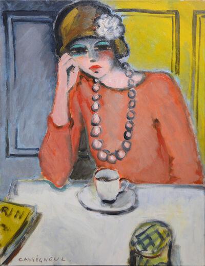 Jean-Pierre Cassigneul, 'Le café', 1969