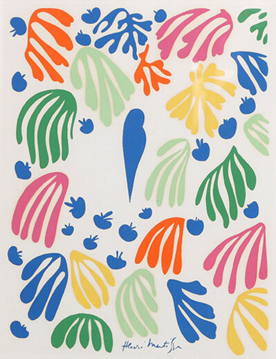 Henri Matisse, 'Parakeet from Parakeet and the Mermaid', 1952
