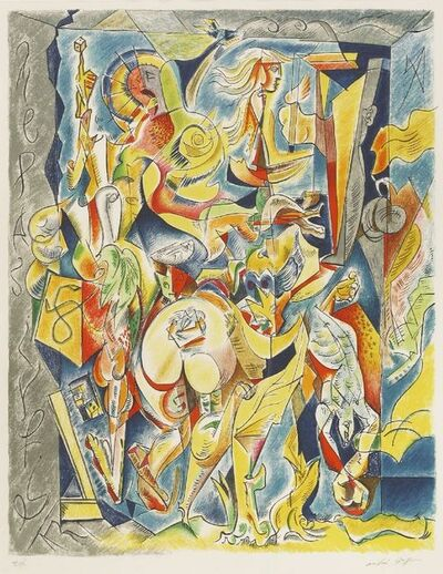 André Masson, 'Works Of Chance', 1960