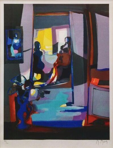 Marcel Mouly, 'INTERIEUR A LA LUMIERE MAUVE', 2004