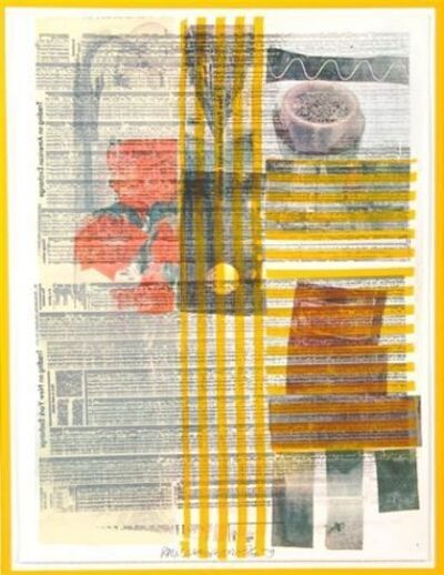 Robert Rauschenberg, 'One More & We Will Be More Than Halfway There', 1979