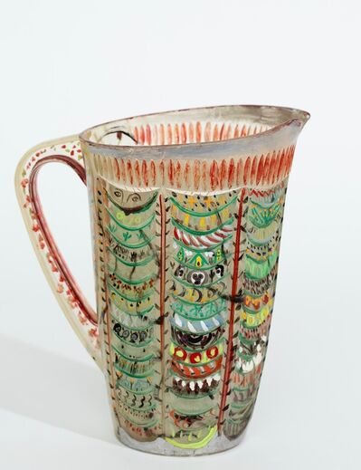Howard Finster, 'Painted Pitcher', Dated 1979