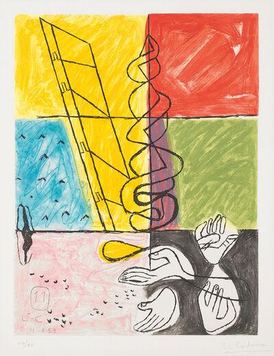 Le Corbusier, 'Unité, plate 11', 1963