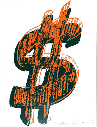 Andy Warhol, '$ (1) FS II.278', 1982