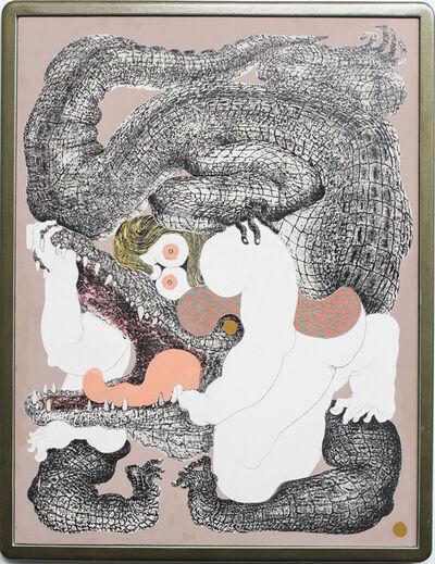 Alex Feuerstein, 'Crocodoc I', 2018