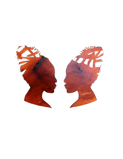 Mary Evans, 'Mirror Image Venetian Red', 2013