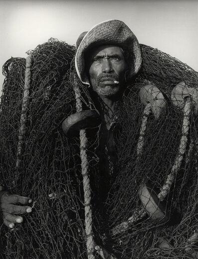 Manuel Carrillo, 'Untitled (Descript: fisherman)', c. 1960's