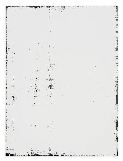 "Michael Riedel, 'untitled (description field ""art material""; rer)', 20116"