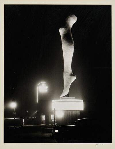 Max Yavno, 'Leg, Olympic Boulevard, Hollywood'