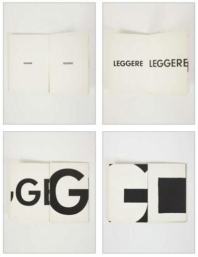 Giovanni Anselmo, 'Leggere | Torino, Sperone', 1972