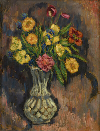Marsden Hartley, 'Vase of Flowers', 1928-1929