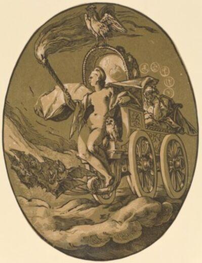 Hendrik Goltzius, 'Nox (Goddess of Night)', 1588/1590