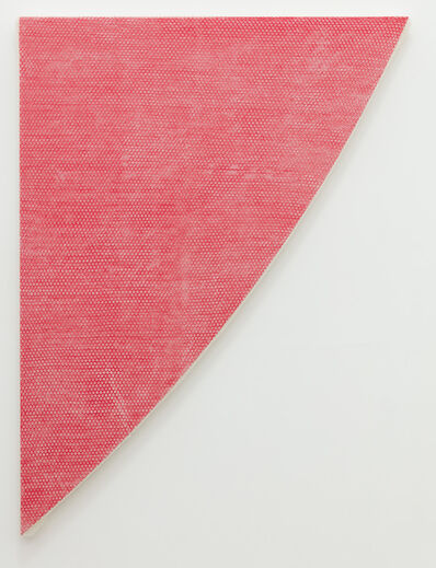 Tammi Campbell, 'Red Curve, wrapped', 2019