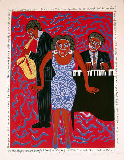 Faith Ringgold, 'Mama Can Sing: You Put the Devil in Me ', 2004