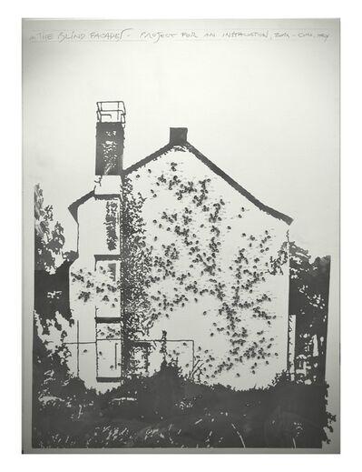 Loris Cecchini, 'Blind facades (projects for installation -‐ Como)', 2014