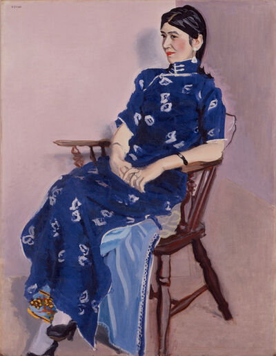 Yasui Sotaro, 'Portrait of Chin-Jung', 1934