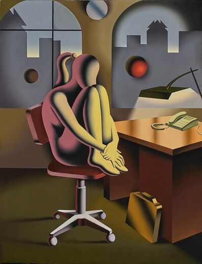 Mark Kostabi, 'Career Break', 2017