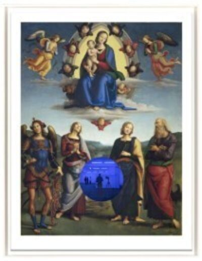 Jeff Koons, 'Gazing Ball (Perugino Madonna and Child with Four Saints)', 2017