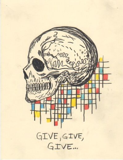 Wes Lang, 'Untitled (Give give give)', 2015