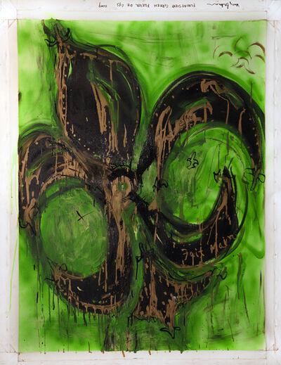 Marcy Brafman, 'Fluorescent Green Fleur de Lys', 2009
