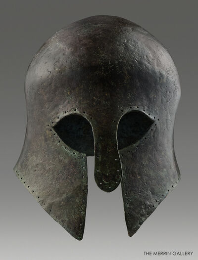 Unknown Greek, 'CORINTHIAN HELMET', 600 BCE