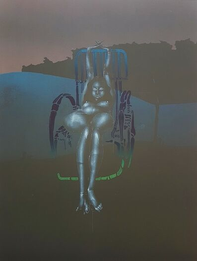 "Paul Wunderlich, 'From Portfolio ""Twilight"" with Karin Szekessy', 1971"