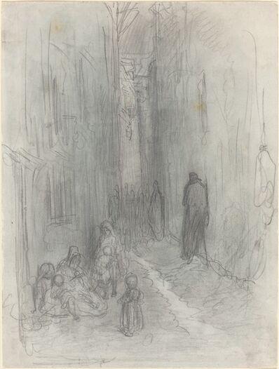 Gustave Doré, 'A Backstreet in London', 1868